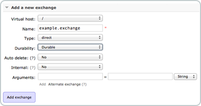 Add Exchange
