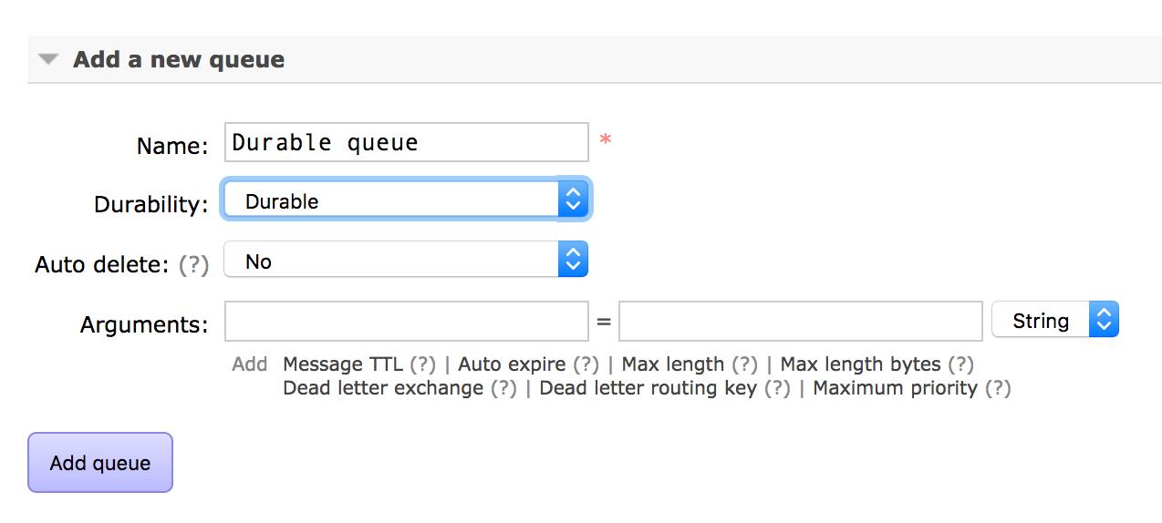 How to persist messages during RabbitMQ broker restart? - CloudAMQP