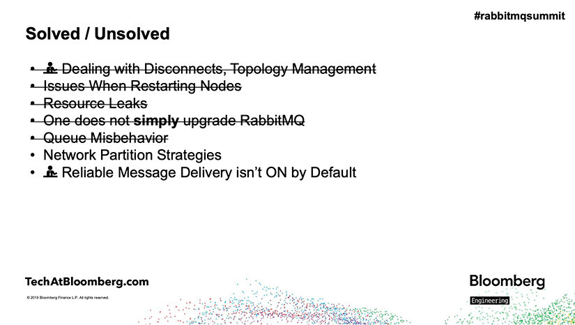 Summary of Challenges with RabbitMQ